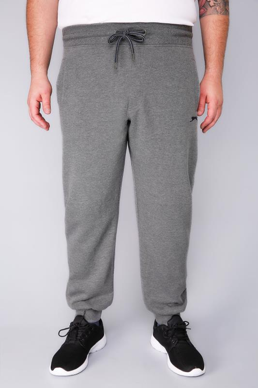Joggers Tallas Grandes SLAZENGER Grey Marl Jogging Bottoms