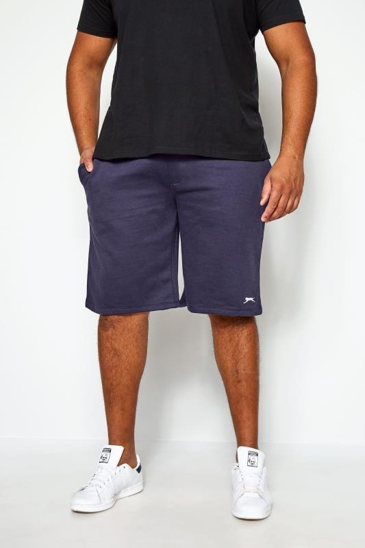 Jogger Shorts Tallas Grandes SLAZENGER Navy Jogger Shorts