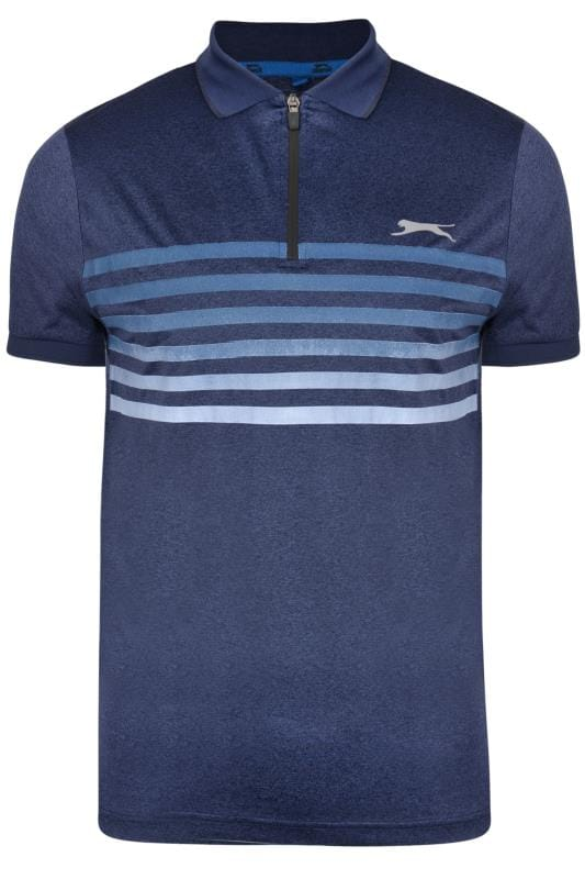 Большие размеры | Polo Shirts SLAZENGER Navy Polo Shirt