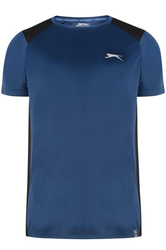 T-Shirts SLAZENGER Navy Sports Top 201611