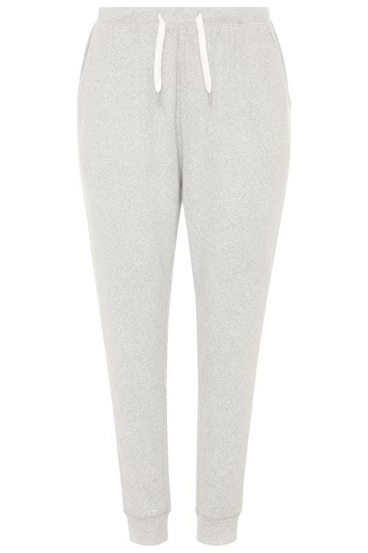 Grey Marl Soft Jersey Lounge Pants