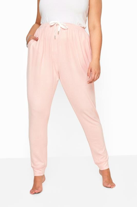 Pink Soft Jersey Lounge Pants