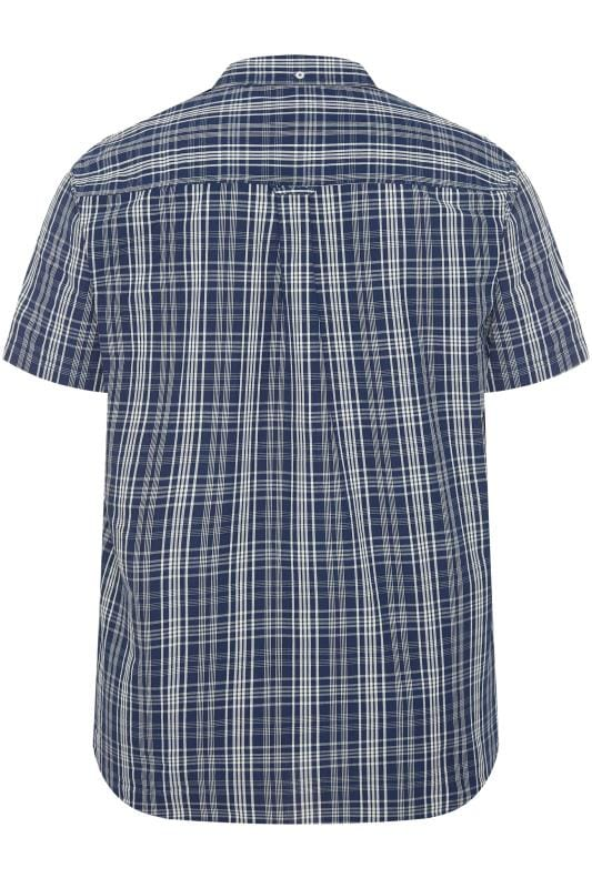 BadRhino Blue Grid Check Shirt