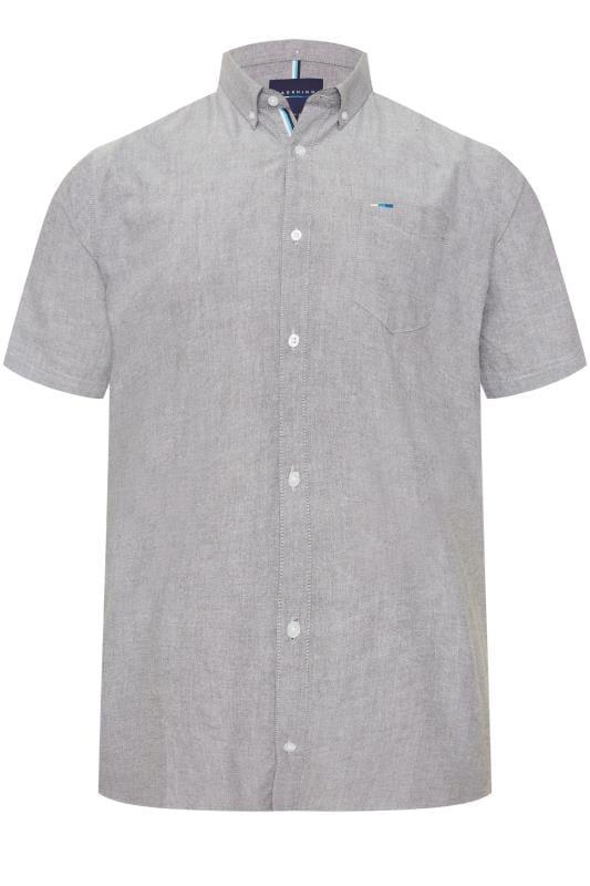 Men's Smart Shirts BadRhino Grey Oxford Shirt