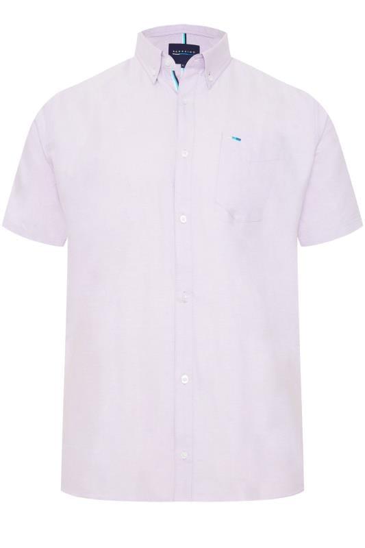 Men's Smart Shirts BadRhino Lilac Oxford Shirt