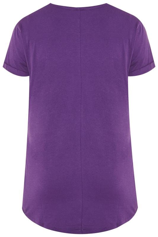 Purple Pocket T-Shirt