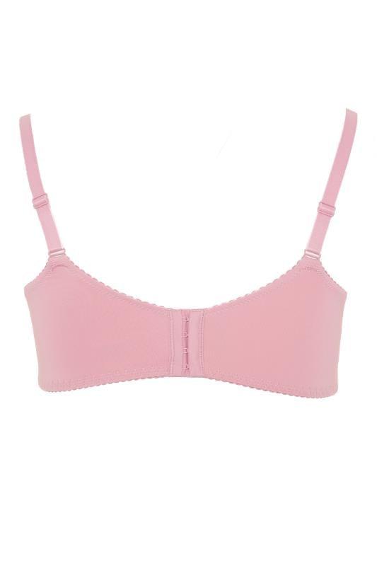 Dusky Pink Stretch Lace Wired Bra