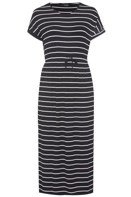Black Stripe Maxi Dress