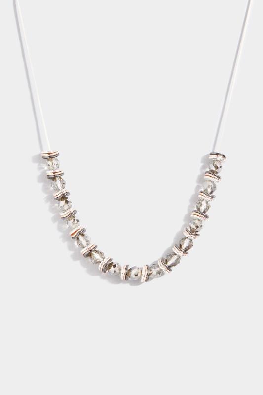 Perlenkette - Silberfarben
