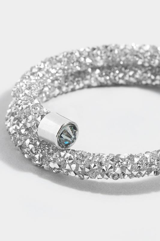 Silver Bead Wrap Bracelet