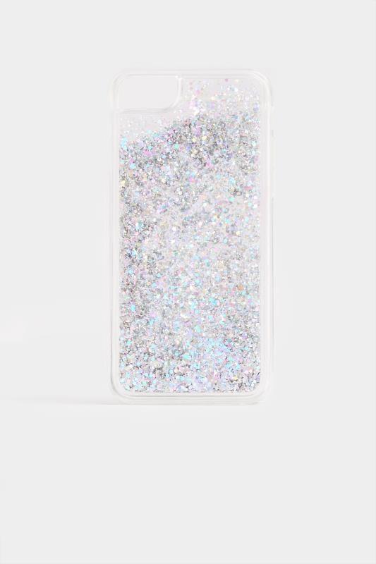 Phone Cases Silver Glitter Phone Case