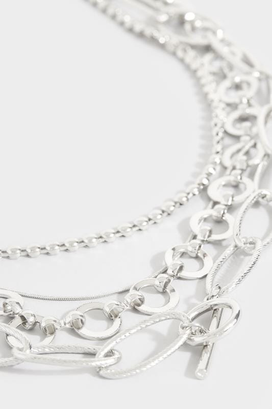 Halsketten in verschiedenen Looks - Silberfarben