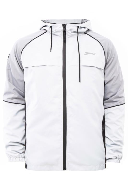 Jackets SLAZENGER Silver Lightweight Zip Through Jacket 201636