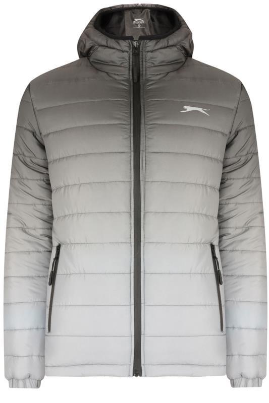 Jackets SLAZENGER Grey Padded Jacket 201639