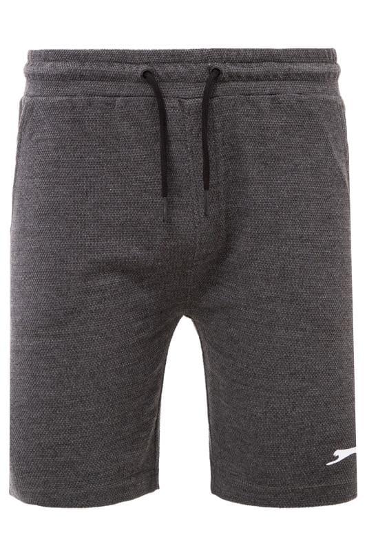 Jogger Shorts SLAZENGER Charcoal Grey Textured Jogger Shorts 201648