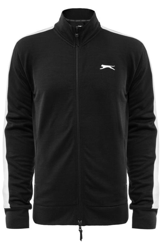 Jackets SLAZENGER Black Zip Through Track Jacket 201638