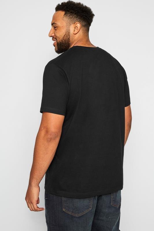 BadRhino Black Speed Kings Graphic Print T-shirt