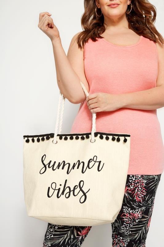 Bags & Purses Summer Vibes Raffia Beach Bag