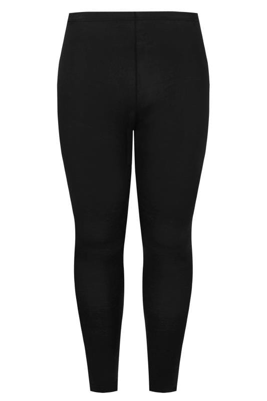 Basic Leggings Tallas Grandes Black Sustainable Leggings