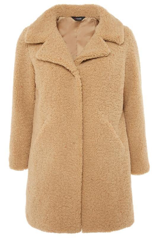 Tan Teddy Coat