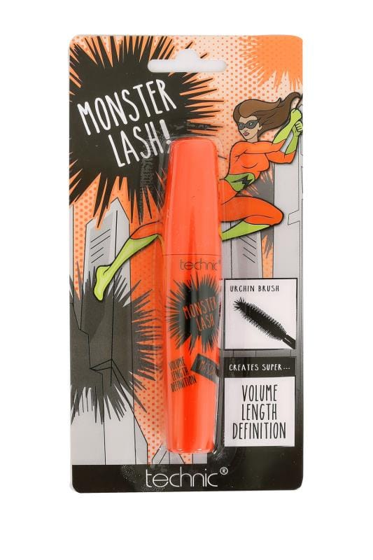 Plus Size Gifts Technic Black Monster Lash Mascara