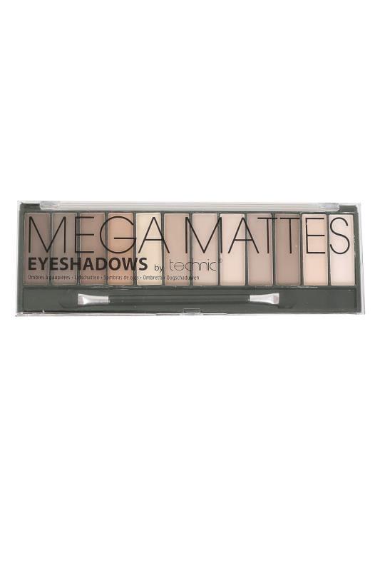 Technic Mega Mattes Eyeshadows - Nude Shades