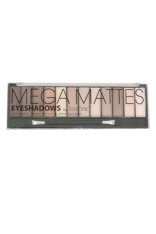 Plus Size Gifts Technic Mega Mattes Eyeshadows - Nude Shades