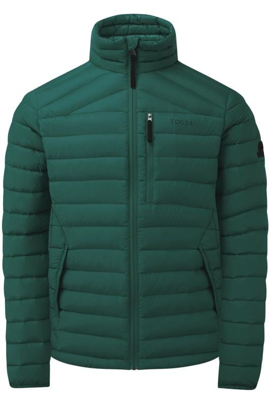 Plus Size Jackets TOG24 Forest Green Padded Jacket