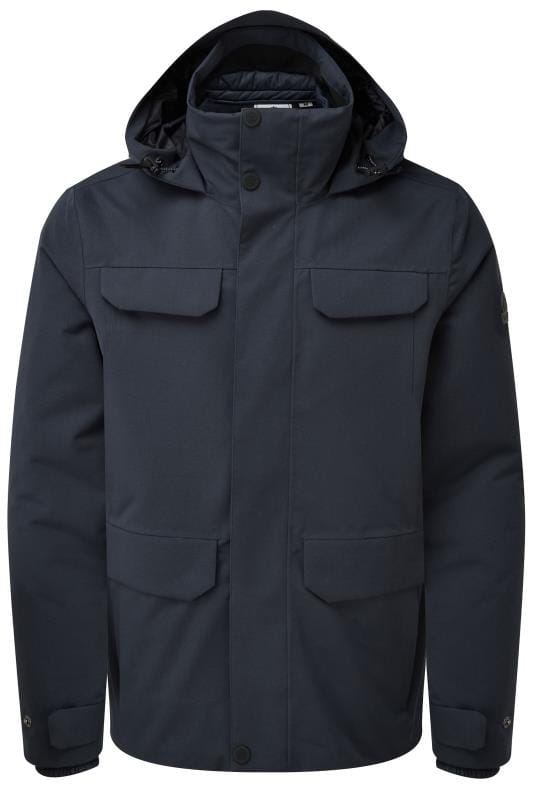 Plus-Größen Coats TOG24 Navy 3 in 1 Waterproof Jacket