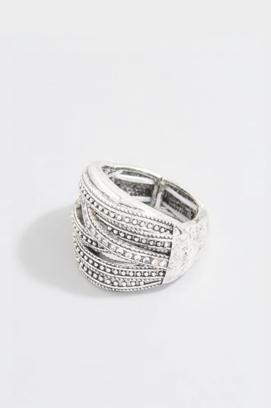 Yours Silver Twisted Ring
