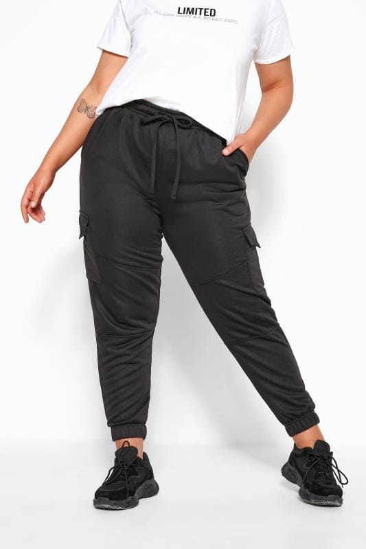 LIMITED COLLECTION Black Utility Joggers