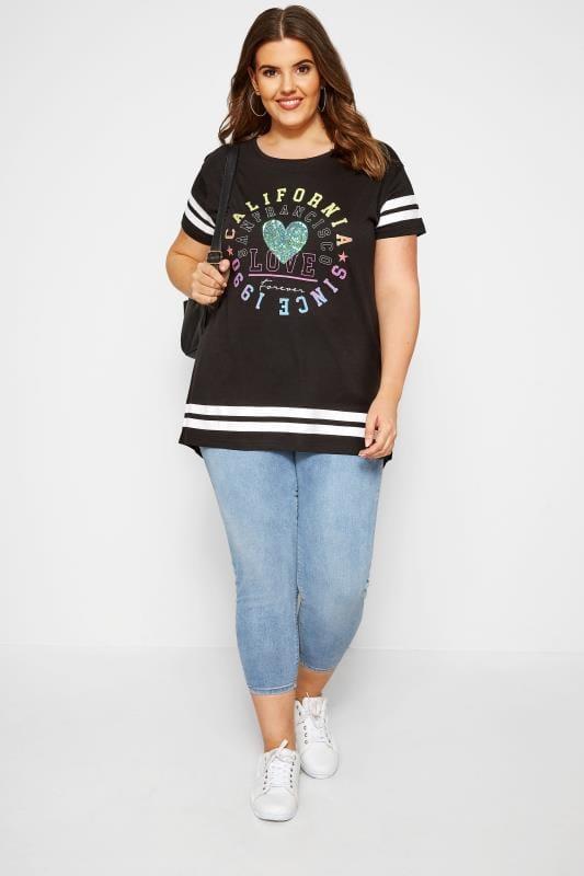 Black Varsity T-Shirt