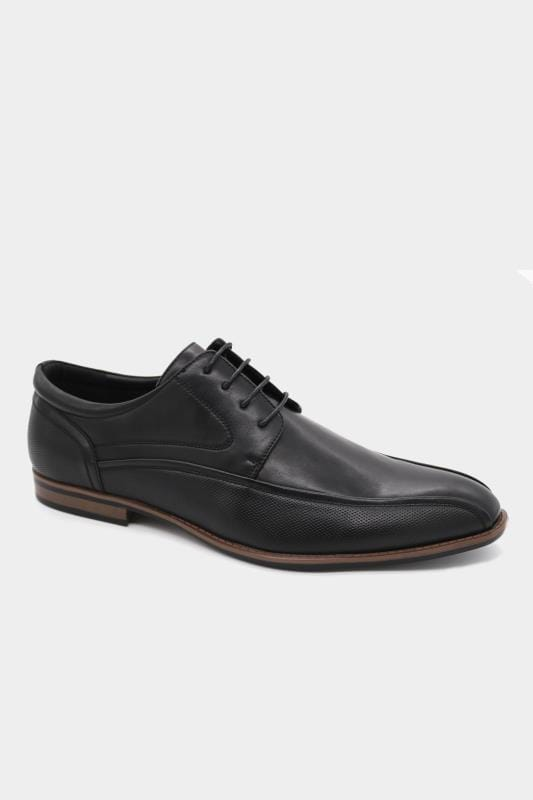 Footwear D555 Black Formal Derby Shoe