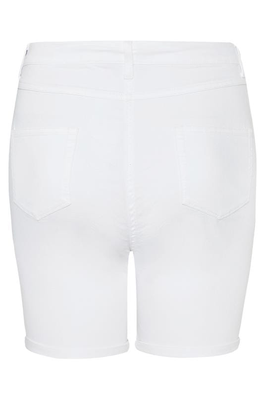 LIMITED COLLECTION White Denim Shorts