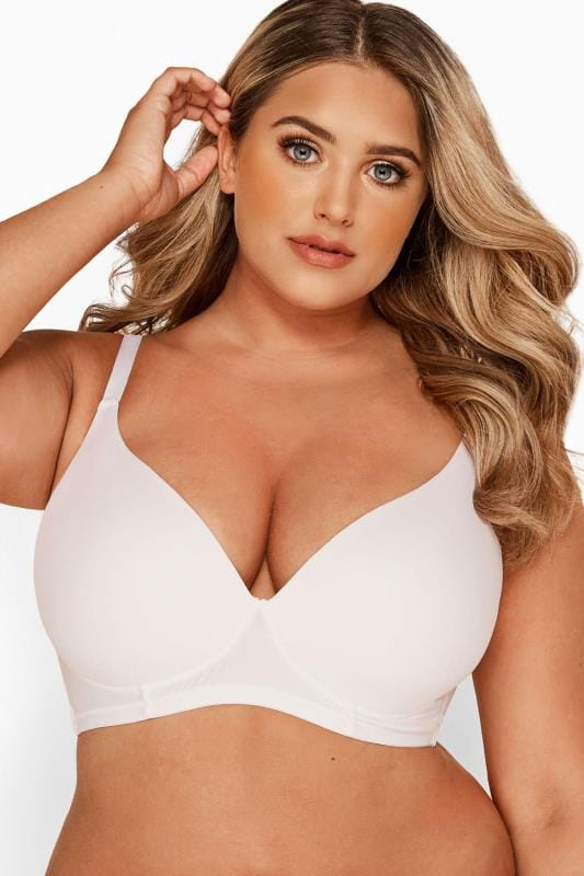 White Non-Wired T-Shirt Bra