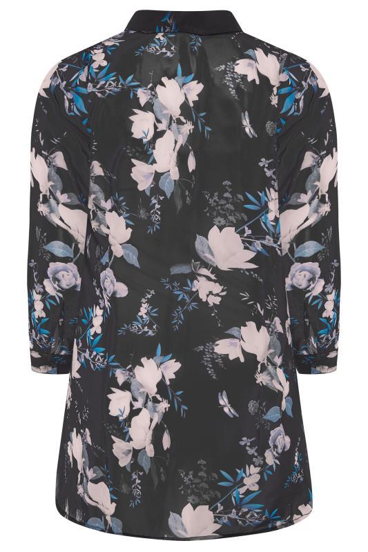 YOURS LONDON Black Floral Chiffon Blouse_4c03.jpg