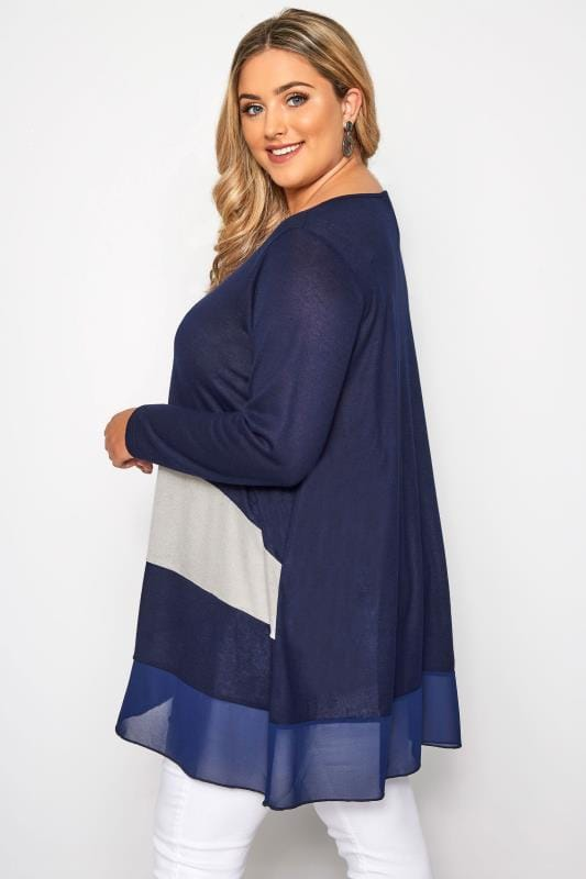 NEW Collection London Plus Knit Fabric Tunic Top SIZE 26//28