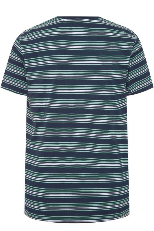 BadRhino Navy & Blue Stripe T-Shirt_635b.jpg