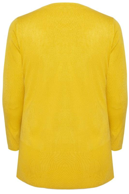 Yellow Fine Knit Cashmilon Jumper
