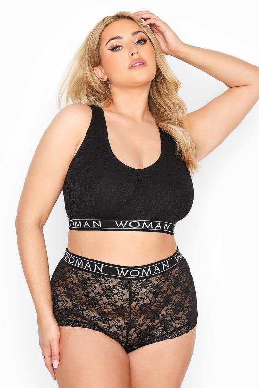 Black Lace Lounge Woman Bralette Set_A.jpg
