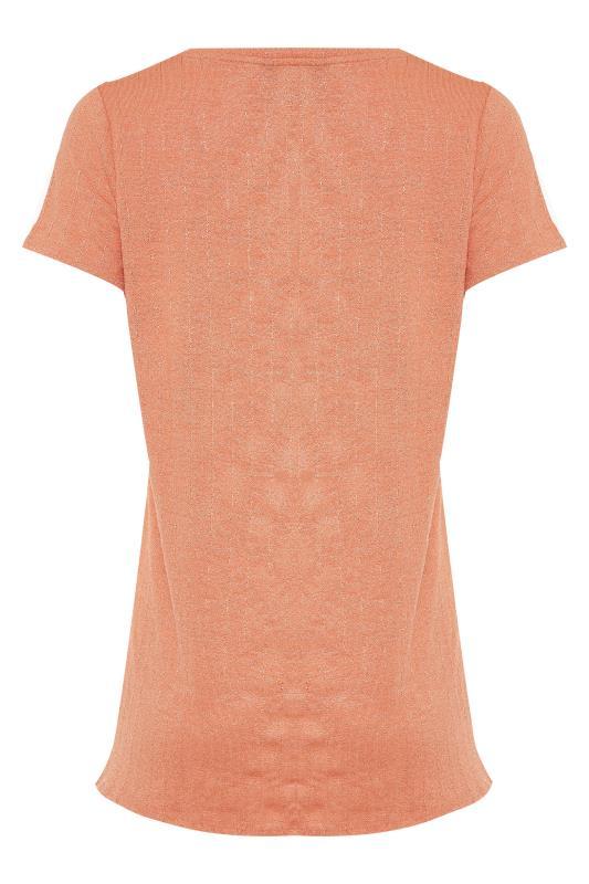 LTS Orange V-Neck T-Shirt_BK.jpg