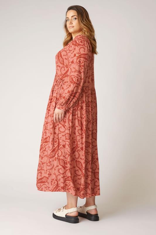 THE LIMITED EDIT Pink Paisley Boho Maxi Dress_C.jpg