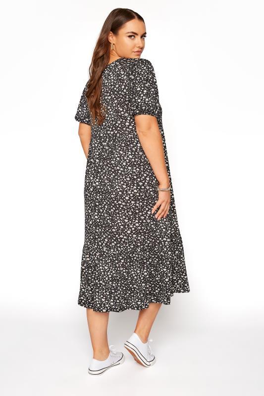 Black Ditsy Puff Sleeve Midaxi Dress_C.jpg