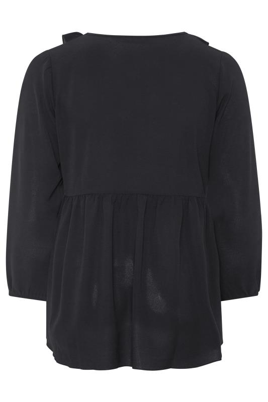 LIMITED COLLECTION Black Frill Blouse