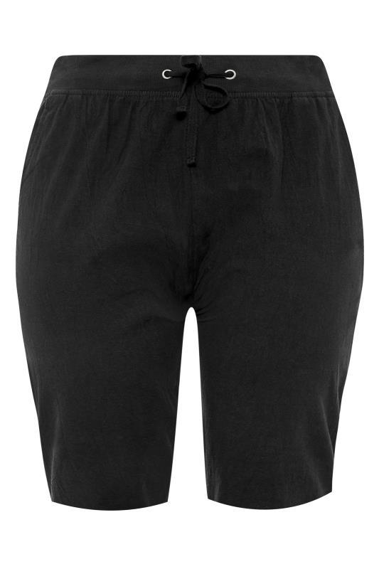 Black Cool Cotton Shorts_F.jpg