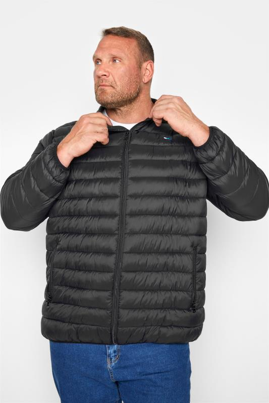 Men's  BadRhino Black Water Resistant Puffer Jacket