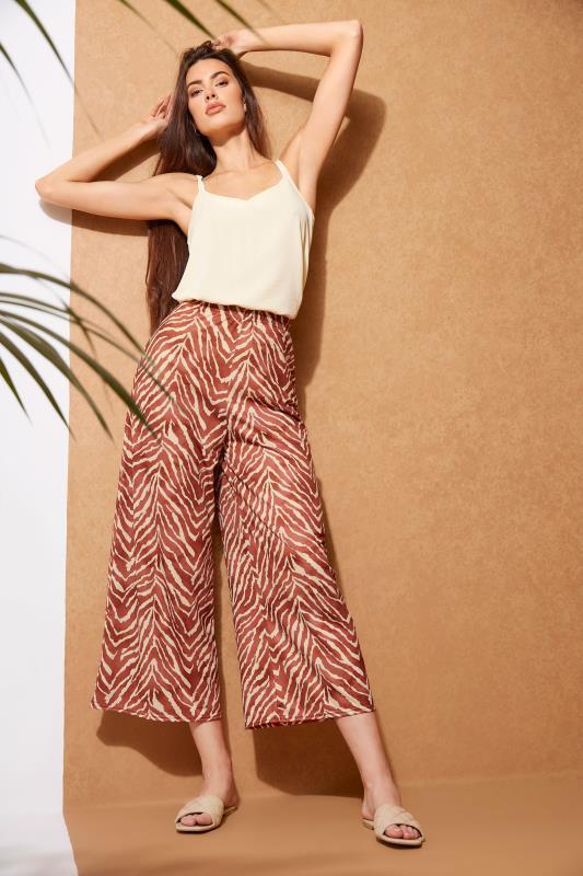 LTS Rust Zebra Print Wide Leg Culottes_L.jpg