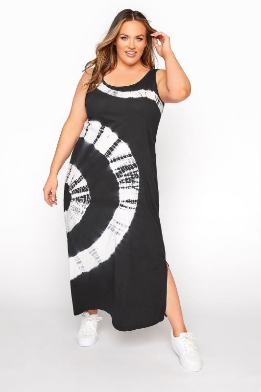 Black Tie Dye Sleeveless Maxi Dress_A.jpg