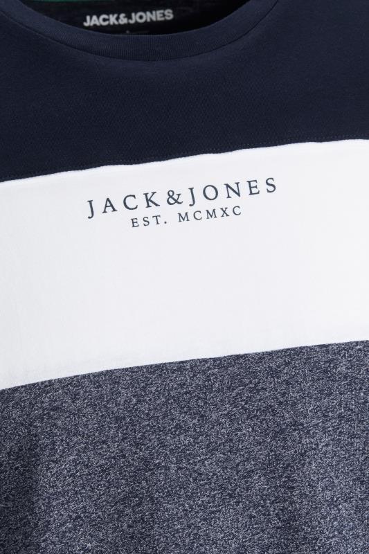 JACK & JONES Navy Monse T-Shirt_S.jpg