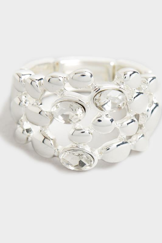 Silver Stone Cluster Stretch Ring_D.jpg